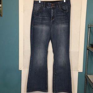 Lane Bryant High Rise Bootcut Jeans Size 16